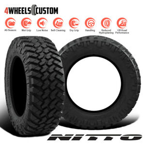 2 X New Nitto Trail Grappler M T 285 70r17 121q Off Road Traction Tire