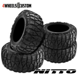 4 X New Nitto Mud Grappler X Terra 33 12 5r20 114q Mud Terrain Tire