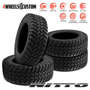 4 X New Nitto Trail Grappler M t 285 65r18 125 122q Off road Traction Tire