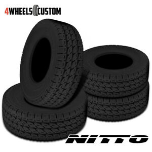4 X New Nitto Dura Grappler 285 75r17 128r Highway Terrain Tires