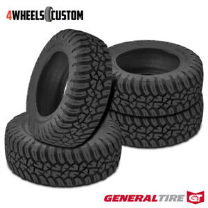 4 X New General Grabber X3 285 75r16 126 123q Off Road Max Traction Tire