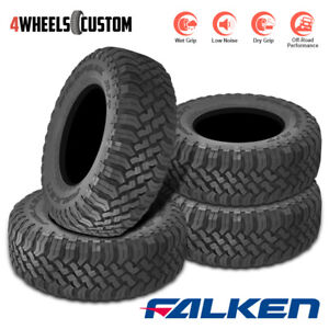4 X New Falken Wildpeak M T01 Lt285 70r17 6 116 113q Tires