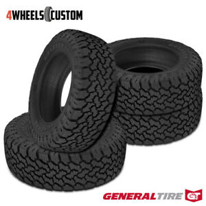 4 X New General Grabber A Tx Lt235 75r15 6 104 101s Tires