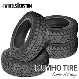 4 X New Kumho Road Venture Mt51 245 75r16 120 116n Off Road Mountain Tire
