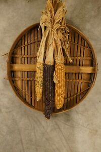 Antique Vintage Primitive Grain Sifter 60 Year Old Corn