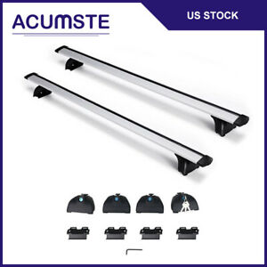 Top Roof Rack Cross Bar Rail Cargo Carrier Crossbar For Audi A3 Q5 Q7 Bmw X1 X5