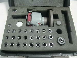 Rotobore Spindle Rbh 1c Includes Collet Set Case Edm Price Reduced