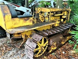 Caterpillar D2 Crawler Dozer Tractor Ie Cat 3j 5j 4u 5u Skid Steer