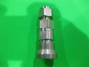 Swagelok Quick Connect Body Tube Fitting Ss qc6 b 600 New