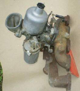Austin America Su Hs4 Carburetor And Manifolds