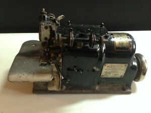 Vintage Merrow A 3dw Industrial Sewing Machine Head As is For Part Head Only