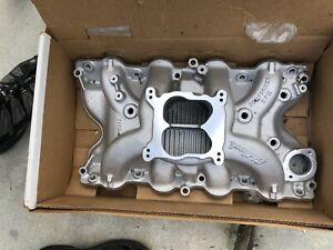Edelbrock 7166 Performer Rpm Big Block Ford 460 Intake Manifold