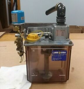 Lube Corp Automatic Lubricator Mmxl iii Way Lube Pump W Pressure Switch