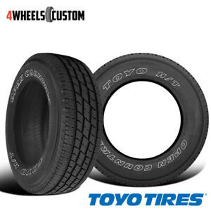 2 X New Toyo Open Country H T Ii Lt245 75r17r10 121 118s Tires