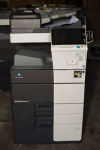 Konica Minolta Bizhub C458 Color Copier Printer Scanner Network Mf 2016 266k