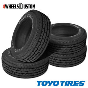 4 X New Toyo Open Country H T Ii 245 65r17 107h Tires