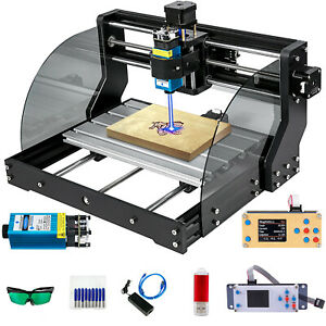 Cnc 3018 Pro Max Laser Router Engraver Machine With 5500mw Module Offline