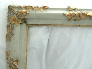 Big Antique Fit 25x 29 Gold Gilt Paint French Picture Frame Ornate Wood Fine Art