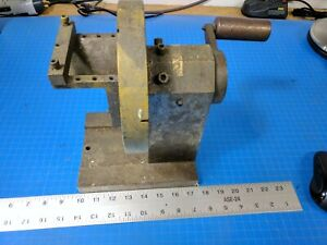 Rotary Spin Index Fixture Grinding Work Holding