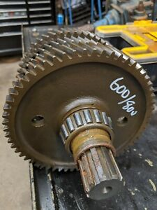 Ford 600 800 Tractor Transmission Main Top Gears Gear Shaft