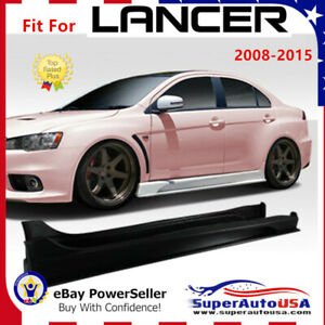 Fit For Mitsubishi Lancer 2008 2015 Duraflex Vrs Style Side Body Skirts