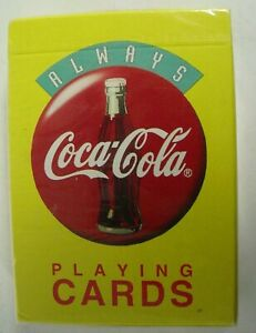 Vintage Always Coca Cola playing cards 1994 NOS Sealed