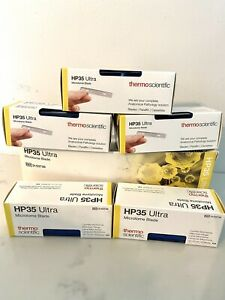 Thermo Hp35 Ultra Microtome Blades 34 75mm 50 Blades High profile 3153735