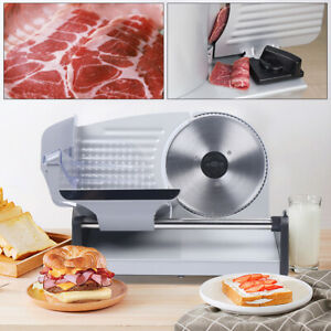 Commercial Meat Cutting Machine Automatic Meat Slicer Cheese Deli Bread Cutter