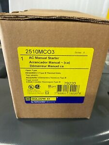 Square D 2510mco3 Ac Manual Starter New