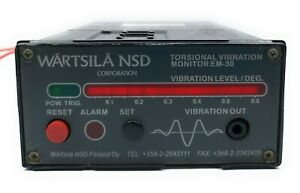 Wartsila Torsional Vibration Monitor Em 30