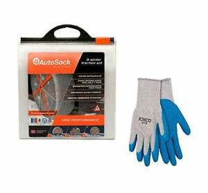 Autosock As540 Tire Chain Alternative With Free Poly cotton Glove Large