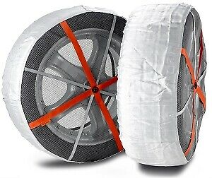 Autosock As685 Traction Wheel And Tire Cover For Ice Snow Easy Install