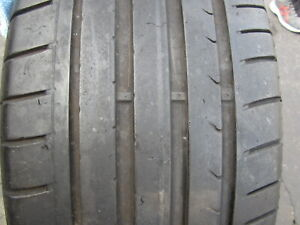 1 245 45r18 Dunlop Sp Sport Maxx Tire No Patches 6 32nds 245 45 18