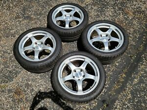 Ssr Gt2 Wheels 17x8 5 5x120 Rims With Tires