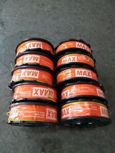 Tiewire Max Tw897a pc Poly Coated Rebar Tie Wire 10 Rolls Made In Japan