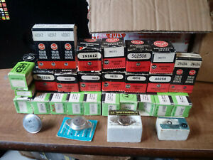 Vintage Electronic Components Lot new motorola rca orig pkging some Rare