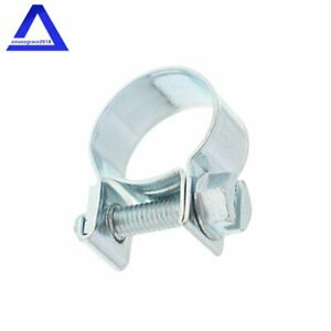 3 8 Fuel Injection Hose Clamp Auto Fuel Clamps New 30pcs