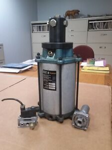Spencer Franklin Booster Pump 2620 Removed From A Bridgeport Cnc Knee Mill