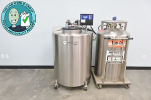 Mve 815 Cryo Storage System With Auto fill With Warranty See Video