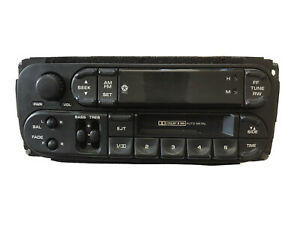 1998 2007 Jeep Dodge Chrysler Plymouth Mopar Stereo Radio Cassette P56038931ab