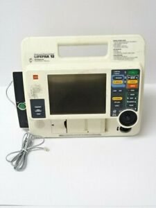 Lifepak 12 Biphasic Monitor Aed Pacer Printer Physio control
