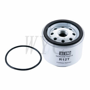 Ebely R12t Replacement Fuel Filter Water Separator For 3 8 Npt Outboard Motors