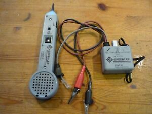 Greenlee 200ep _g Tone Probe Tone Generator And 77hp g 6a