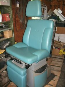 Ritter 75 Evolution Power Exam Table chair Used Good Condition