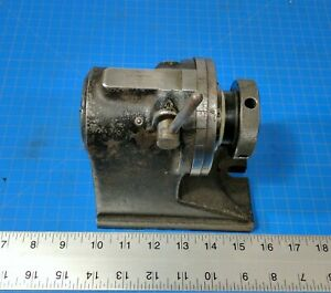 Hardinge H 4 5c Collet Index Fixture Machinist Tool Spin Rotary Indexer Workhold