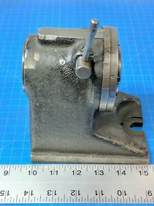 Hardinge H 4 5c Collet Index Fixture Machinist Tool Spin Rotary Indexer Grinding