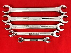 Near Mint Snap on 1 4 13 16 Rxh605s Flare Nut Line Wrench Set 5pc Underline