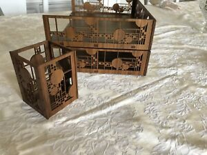 2 Frank Lloyd Wright Coonley Letter Trays Desk Accessories 1 Pencil Holder