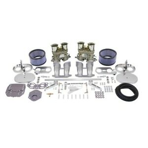 Dual 40 Hpmx Carburetor Kit For Type 2 Type 4 Dunebuggy Vw