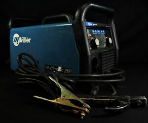 Miller Multimatic 215 Multiprocess Welder Without Mig Gun